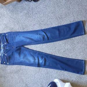 Stevie size 26 slim straight AG jeans